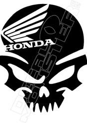 Honda Moto Skull