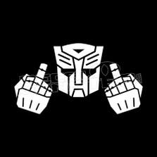 Transformer Middle Finger
