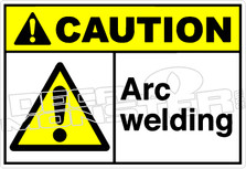 Caution 005H - Arc welding