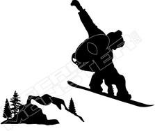 Snowboarder Jump 61