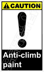 Caution 002V - anti-climb paint