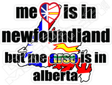 Heart is in Newfoundland