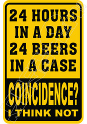 24 Hours 24 Beers Coincidence