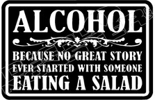 Alcohol No Great Story