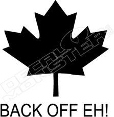 Back Off Eh