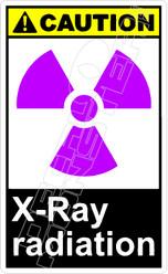 Caution 335V - x-ray radiation