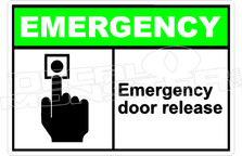 Emergency 008H - emergency door release