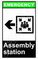 Emergency 002V - assembly station left