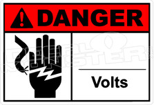 Danger 013H - _____ volts