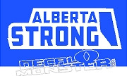 Alberta Strong45 Province Fort Mac McMurray 2016 Fire Decal Sticker