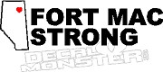 Fort Mac Strong Province56 McMurray 2016 Fire Decal Sticker