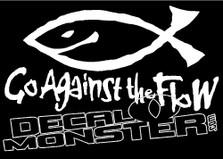 Go Against The Flow Jesus Fish