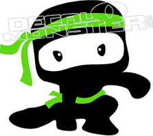 Baby Ninja Decal Sticker
