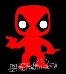Deadpool 4 Decal Sticker