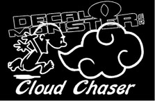 Cloud Chaser Vape Decal Sticker