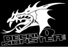 Dragon 2 Decal Sticker