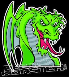 Dragon 3 Decal Sticker
