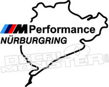 Nurburgring Performance Decal Sticker