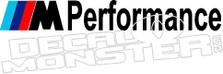 Bmw Performance Decal Sticker