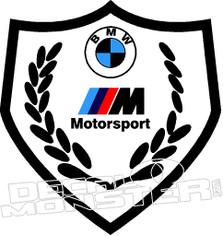 Bmw Motorsport 2 Decal Sticker