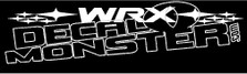 Subaru WRX Stars Decal Sticker