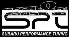 Subaru Performance Tuning Decal Sticker