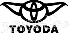 Toyota Toyoda Funny Decal Sticker