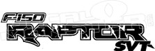 F150 Raptor SVT Decal Sticker