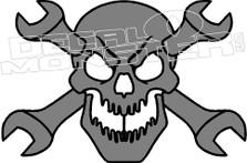 Tool Skull Decal Sticker