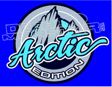 Artic Edition Decal Sticker
