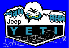 Jeep YETI Edition Decal Sticker