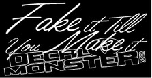 Fake it TIll You Make it Decal Sticker