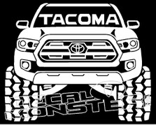 Toyota Tacoma Silhouette 1 Decal Sticker