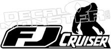 FJ Cruiser Sasquatch Decal Sticker