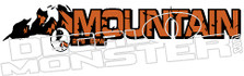 4x4 Mountain 1 Decal Sticker