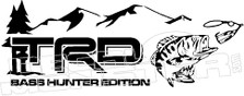 TRD Bass Hunter Edition Decal Sticker