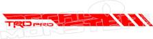 Toyota TRD Pro Stripe 2 Decal Sticker
