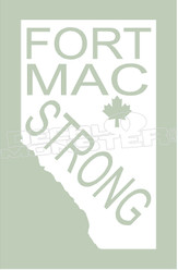 FortMacStrong Province 7 Decal Sticker