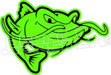 Catfish 1 Decal Sticker