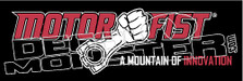 Motorfist 1 Snowmobile Sled Decal Sticker