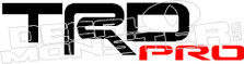 TRD Pro 1 Toyota Decal Sticker