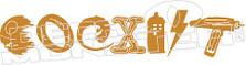 Coexist 2 Star Wars Decal  Sticker