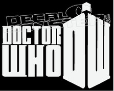 Doctor Who Decal Sticker