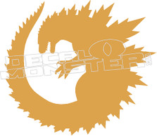 Godzilla 3 Decal Sticker