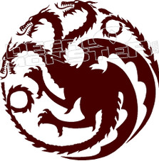 Game of Thrones Decal Sticker
