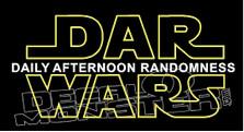 Dar Wars Decal Sticker