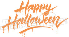 Happy Halloween! Decal Sticker