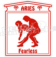 Aries - Naughty Decal
