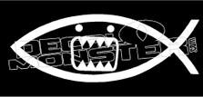 Domo Darwin Evolve 1 Hella Broke JDM Decal Sticker