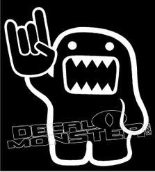 Domo Darwin Evolve 1 Rock On JDM Decal Sticker